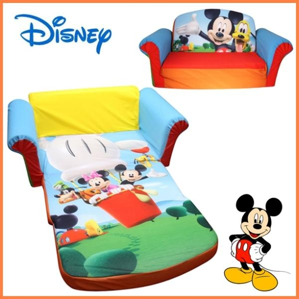 Mickey Mouse Sofa Chair | Memsaheb Throughout Mickey Mouse Clubhouse Couches (Image 18 of 20)