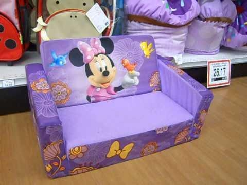 Mickey Mouse Sofa – Youtube With Mickey Fold Out Couches (Image 12 of 20)