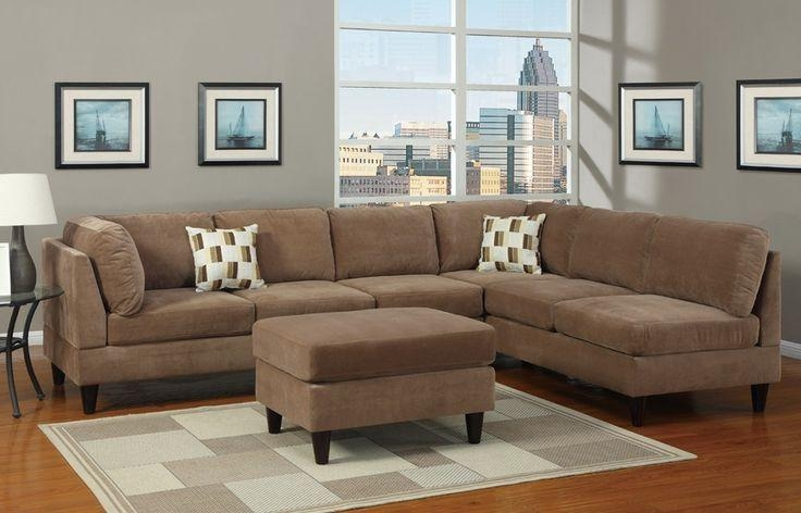 Microfiber Sectional Sofa Style | Elegant Furniture Design In Microfiber Sectional Sofas (View 13 of 20)