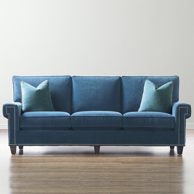 Microfiber Sofa With Regard To Blue Microfiber Sofas (Image 13 of 20)