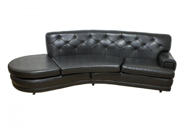 Mid Century Retro Black Vinyl Sofa From G Plan For Sale At Pamono With Regard To Black Vinyl Sofas (Photo 9 of 20)