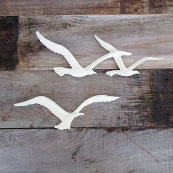 Mid Century Seagull Wall Hanging Vintage From The Dusty Old Shack With Ceramic Bird Wall Art (Image 15 of 20)
