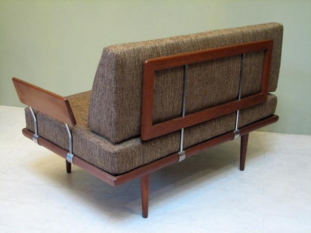 Midcentury Sofas And Mid Century Danish Modern Sofa Couch 27 Image Within Danish Modern Sofas (View 9 of 20)