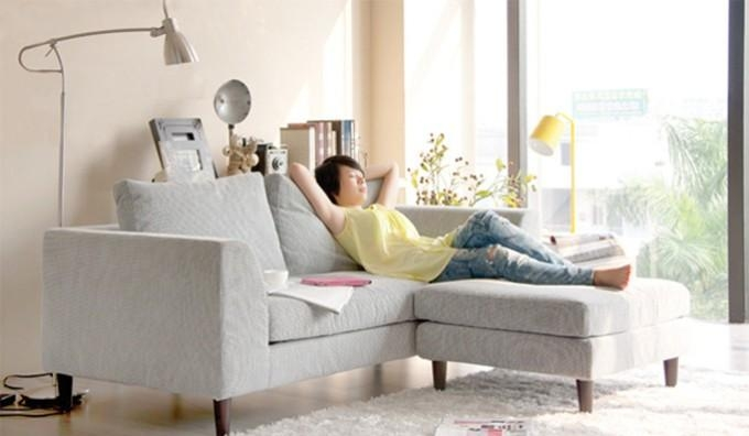 Mini L Shape – Small Corner Sofa – Ideal For Small Rooms Delux Within Small L Shaped Sofas (View 9 of 20)