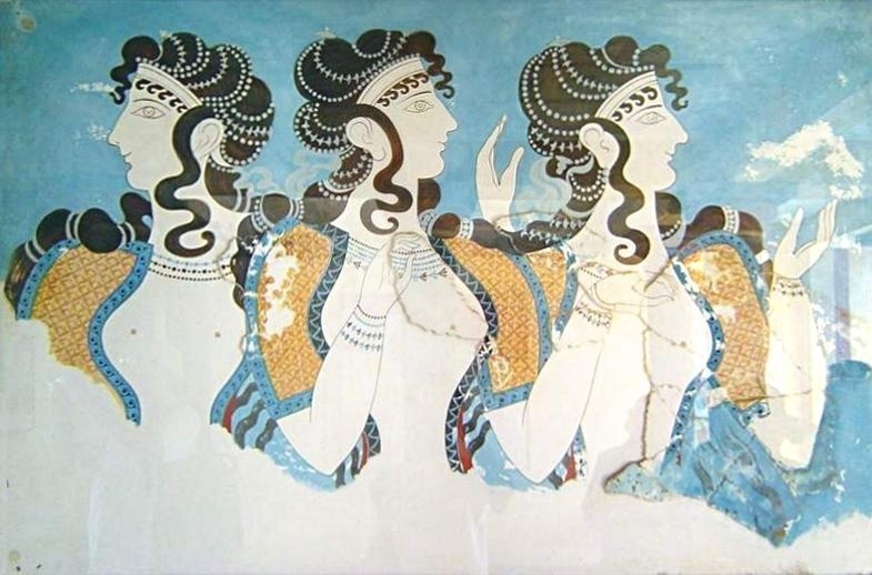 Minoan Art Throughout Ancient Greek Wall Art (Image 16 of 20)