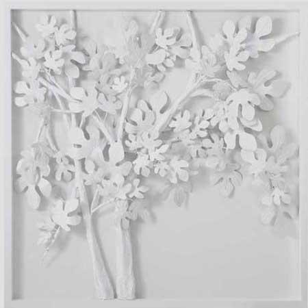 Mixed Media 3D – Xchristakos – Contemporary Artist Painter – White For White 3D Wall Art (Image 13 of 20)