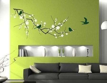 Modern Home Decorating With Wall Stickers, Decals And Vinyl Art Ideas Within Modern Vinyl Wall Art (Image 16 of 20)