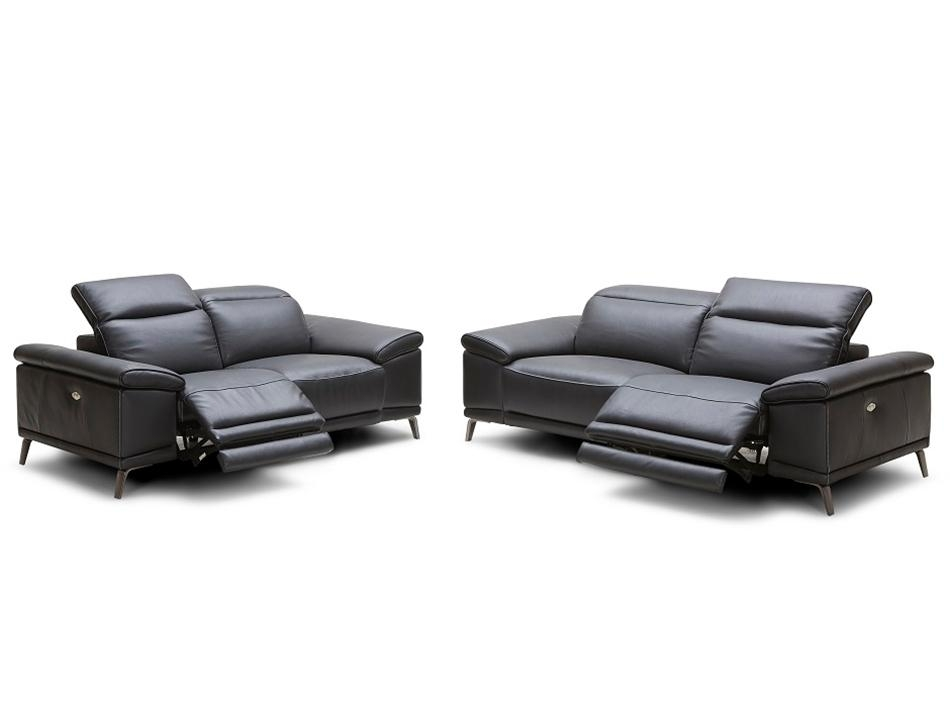 Modern Power Recliner Sofaj&m Furniture Regarding Italian Recliner Sofas (Image 14 of 20)