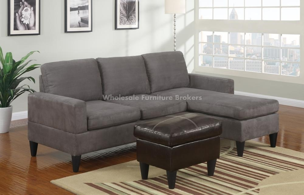Modern Sectional Sofas Photo In Mini Sectional Sofa – Home Decor Ideas Throughout Microfiber Sectional Sofas (View 11 of 20)