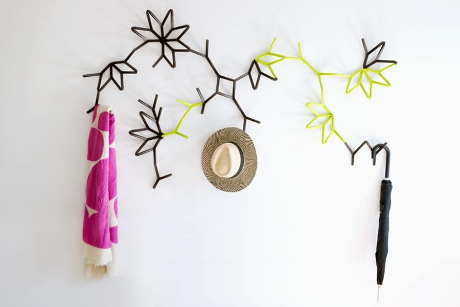 Modern Wall Coat Hook Ideas To Spruce Up Your Living Room Or Intended For Wall Art Coat Hooks (Image 14 of 20)
