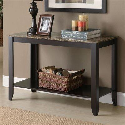 Monarch Specialties I 7983S Console Table | Lowe's Canada Within Lowes Sofa Tables (Image 12 of 20)