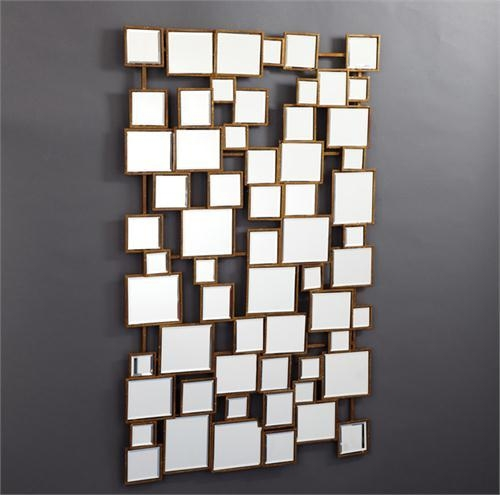 Montage Wall Mirror From Plantation Inside Wall Art Mirrors Contemporary (Image 9 of 20)