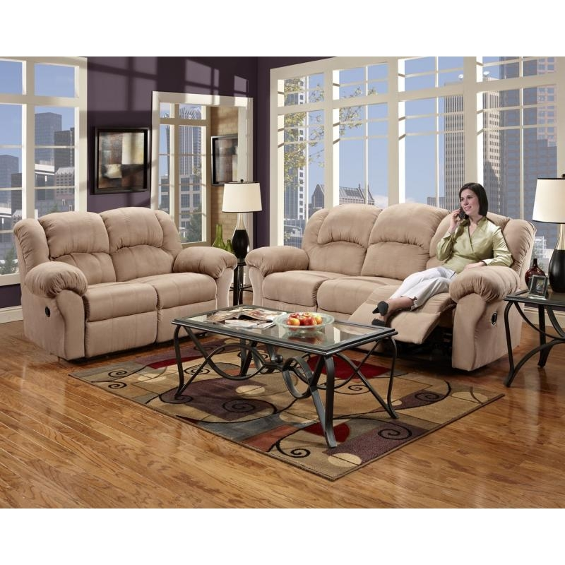 Montana Reclining Sofa & Loveseatsimmons Intended For Simmons Sofas And Loveseats (Image 5 of 20)