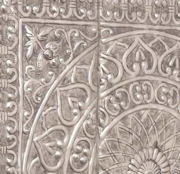 Moroccan Antique Silver Wall Art | Wall Decor With Regard To Moroccan Metal Wall Art (Image 11 of 20)
