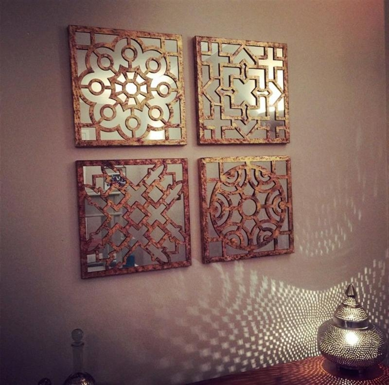 Moroccan Wall Mirror Frame Metal : Doherty House – Moroccan Wall For Moroccan Metal Wall Art (Image 14 of 20)
