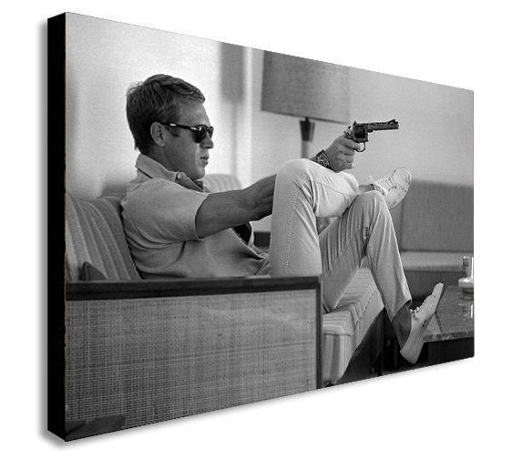 Movie Canvas | Ebay In Steve Mcqueen Wall Art (View 14 of 20)