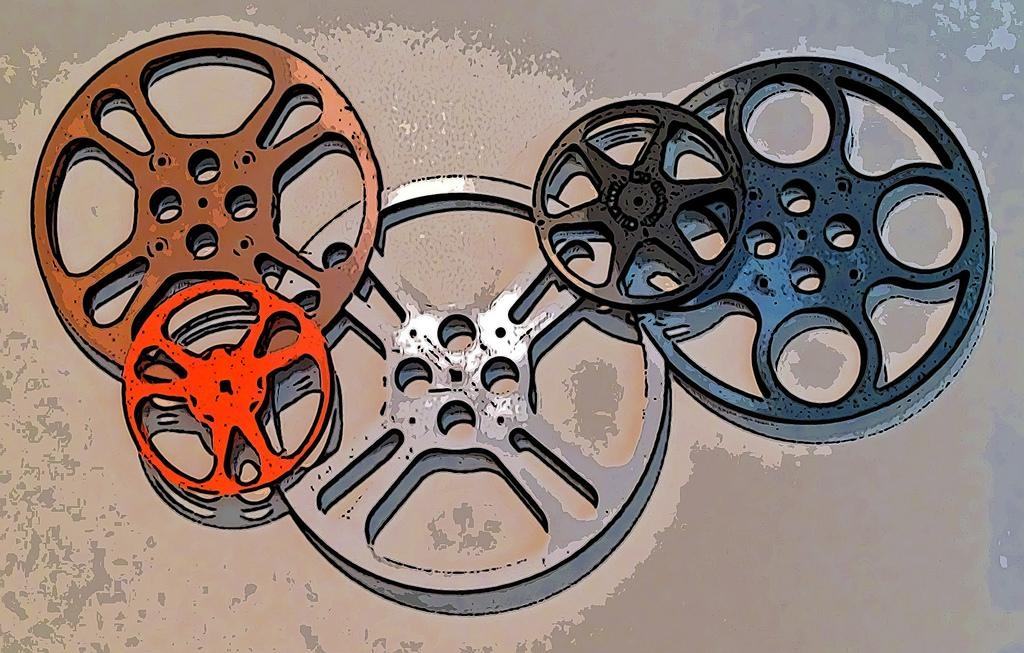 Movie Reel Wall Art • Tooncamera Ios App | Movie Reel Wall A… | Flickr In Film Reel Wall Art (Image 19 of 20)