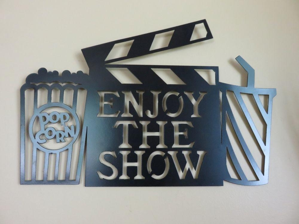 Movie Theater Decor | Ebay For Home Theater Wall Art (Image 16 of 20)