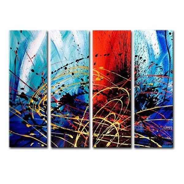 Multiple Canvas Wall Art Intended For Multi Canvas Wall Art (View 2 of 20)