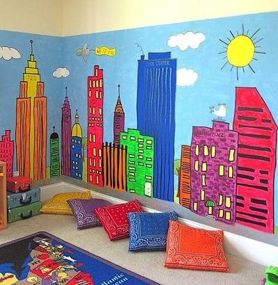 Murals | Creative Kids' Room Wall Art | Kidspace Interiors Throughout Playroom Wall Art (Image 12 of 20)