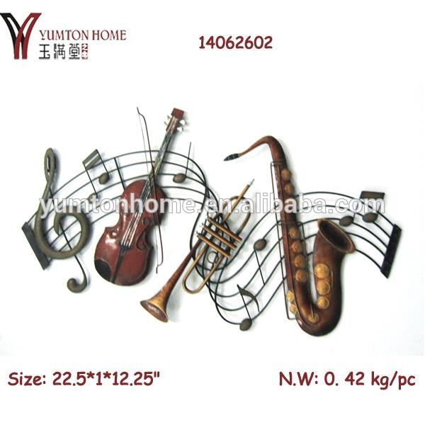 Music Notes Metal Wall Art Decor – Buy Music Notes Wall Decor In Metal Music Notes Wall Art (Image 15 of 20)