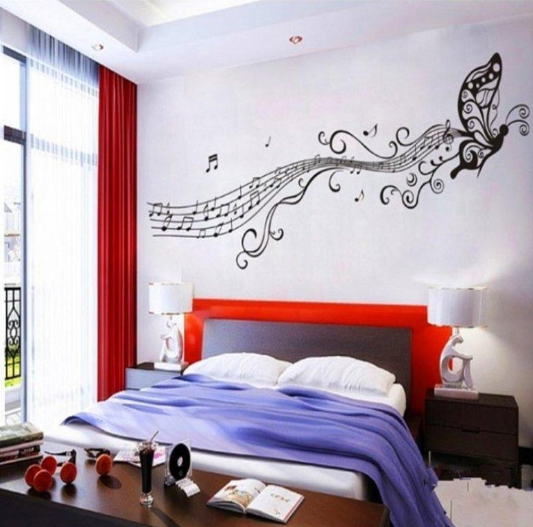 Music Themed Décor Ideas | Homesfeed Pertaining To Music Theme Wall Art (View 17 of 20)