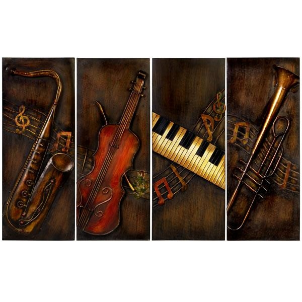 Music Wall Art Pertaining To Music Metal Wall Art (Image 16 of 20)