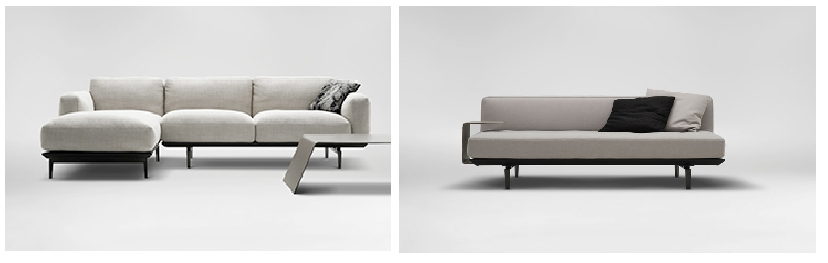 Narrow Depth Sofa | Ira Design Intended For Narrow Depth Sofas (Image 3 Of  20