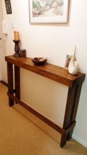 Narrow Sofa Table – Foter In Slim Sofa Tables (Image 13 of 20)