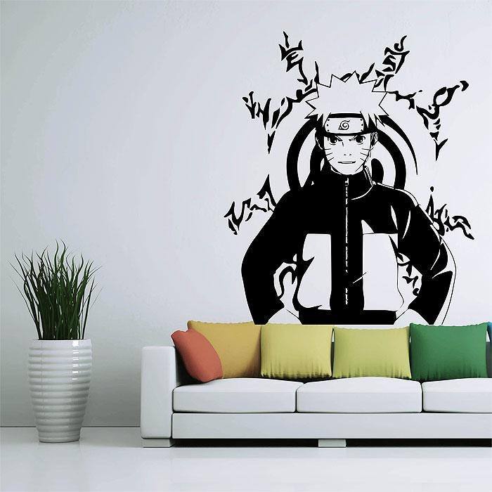 Naruto Vinyl Wall Art Decal In Tattoo Wall Art (View 10 of 20)