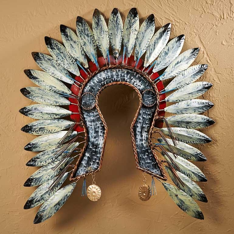 Native American Metal Wall Art – Shenra In Native American Wall Art (Image 15 of 20)