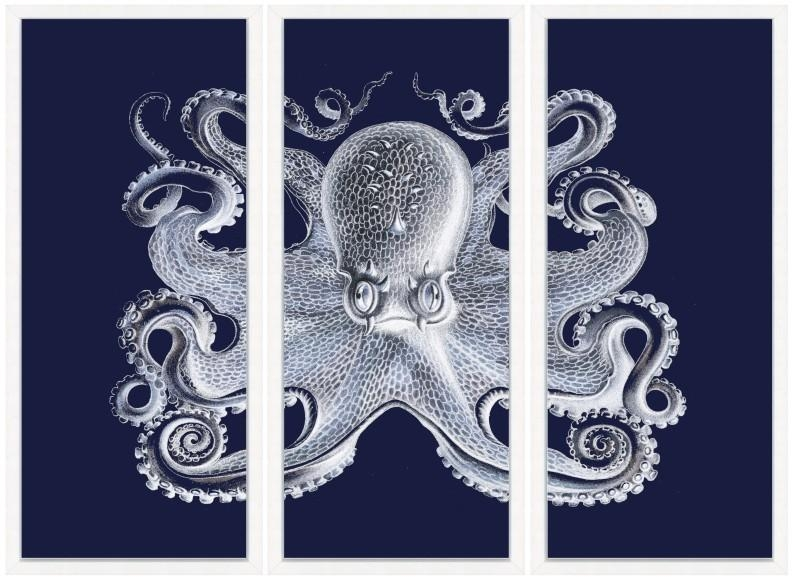 Navy Blue Wall Art Unique Wall Art Decor On Wood Wall Art – Home For Navy Blue Wall Art (View 6 of 20)