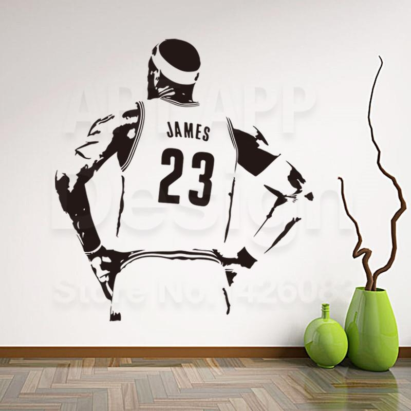 Nba Wall Decals Reviews – Online Shopping Nba Wall Decals Reviews Pertaining To Nba Wall Murals (Image 12 of 20)