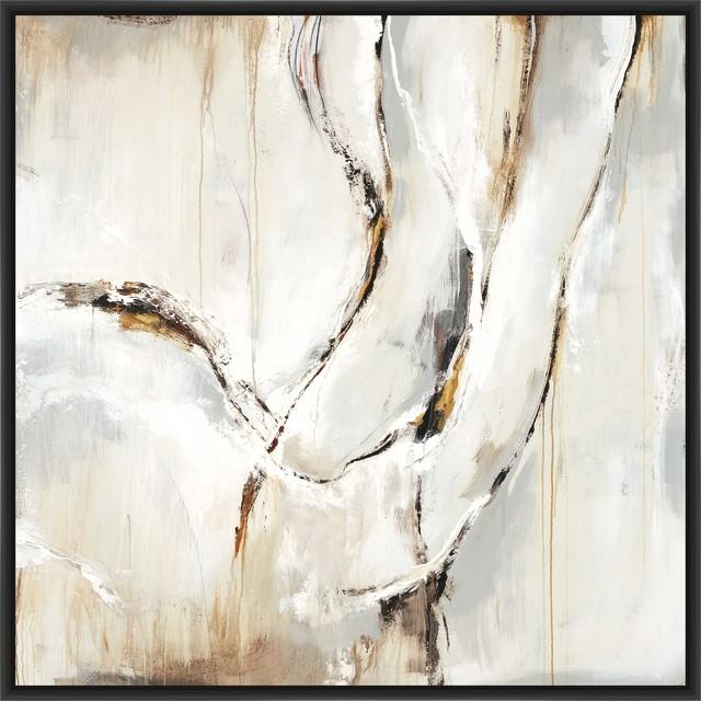"Neutral Flow"", Canvas Wall Art – Modern – Prints And Posters – With Regard To Neutral Wall Art (Image 12 of 20)"