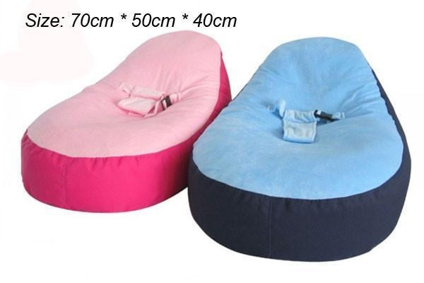 New Blue Pink Bloop Newborn Babies Beanbag Chair Kids Toddler Baby Pertaining To Sofa Beds For Baby (Image 10 of 20)