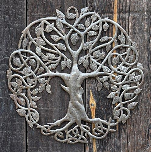 New Design Celtic Inspired Tree Of Life, Metal Wall Art, Fair Regarding Celtic Tree Of Life Wall Art (Image 19 of 20)