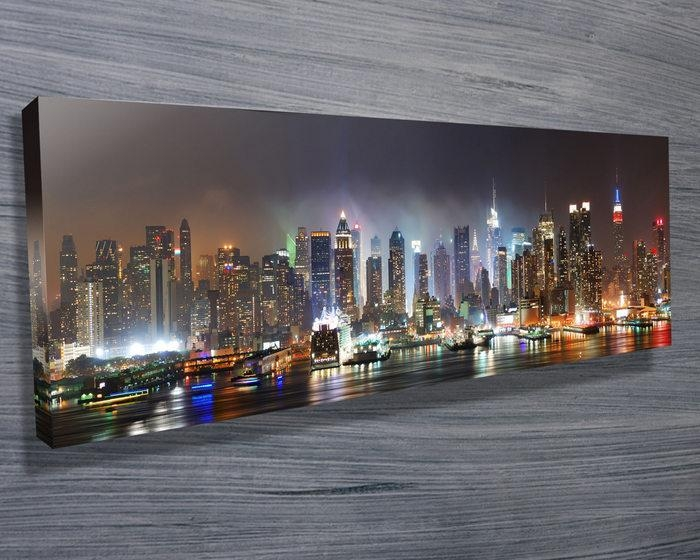 New York Skyline – Canvas Prints Australia In New York City Canvas Wall Art (View 16 of 20)