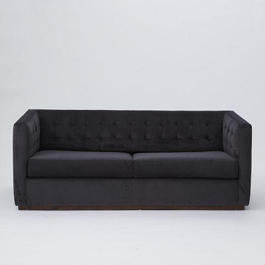 Nice Velvet Sleeper Sofa Ava Velvet Tufted Sleeper Sofa I Urban In Ava Velvet Tufted Sleeper Sofas (View 19 of 20)