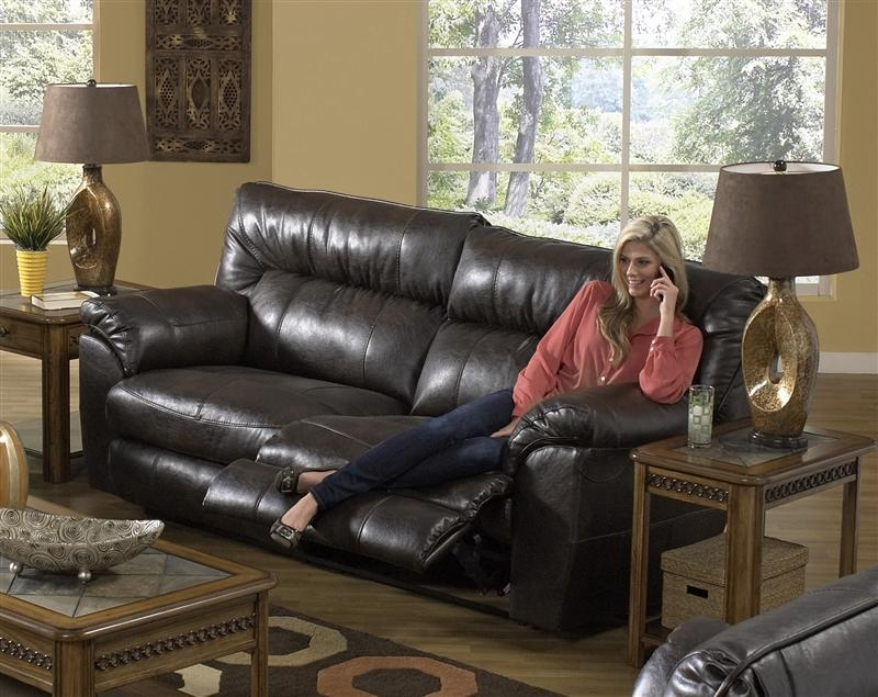 Nolan Leather Power Reclining Sofacatnapper – 64041 For Catnapper Sofas (View 8 of 20)