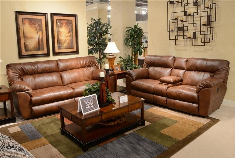 Nolan Leather Power Reclining Sofacatnapper – 64041 Within Catnapper Sofas (Image 16 of 20)