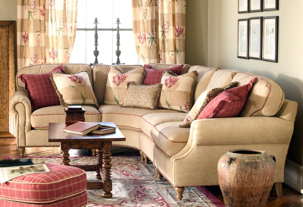 North Carolina Furniture Trends: Big Florals | Hickory Furniture With Regard To Highland House Couches (View 11 of 20)