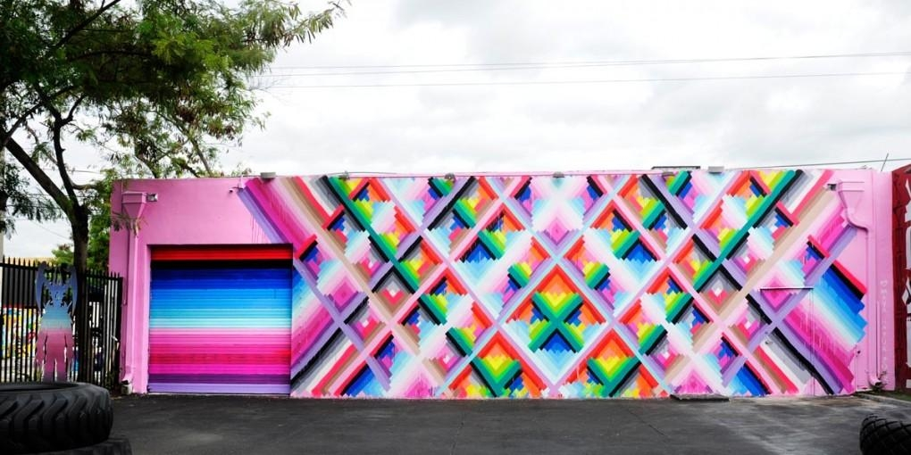 Not Your Grandma's Art Walk: A Guide To Miami's Wynwood Walls Throughout Miami Wall Art (Image 6 of 20)