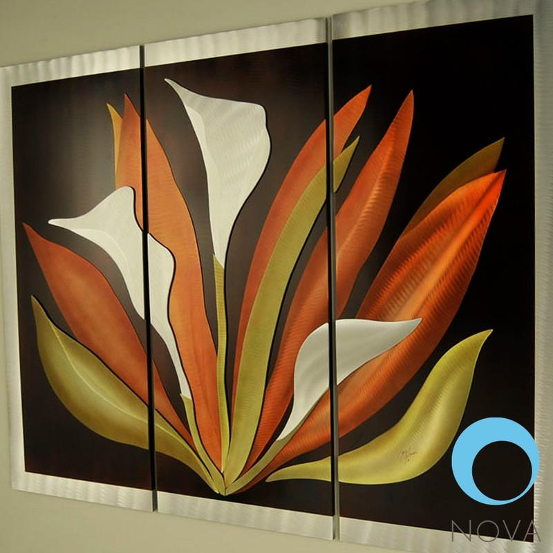 Nova Bird Of Paradise | Nova Bird Of Paradise 3 Piece Wall Art Intended For Nova Wall Art (Image 3 of 20)