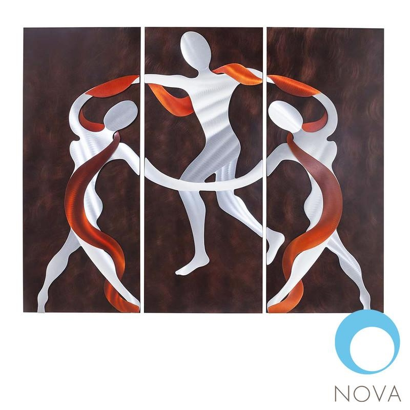 Nova Scarf Dance | Nova Scarf Dance Wall Artjon Gilmore Pertaining To Nova Wall Art (Image 8 of 20)