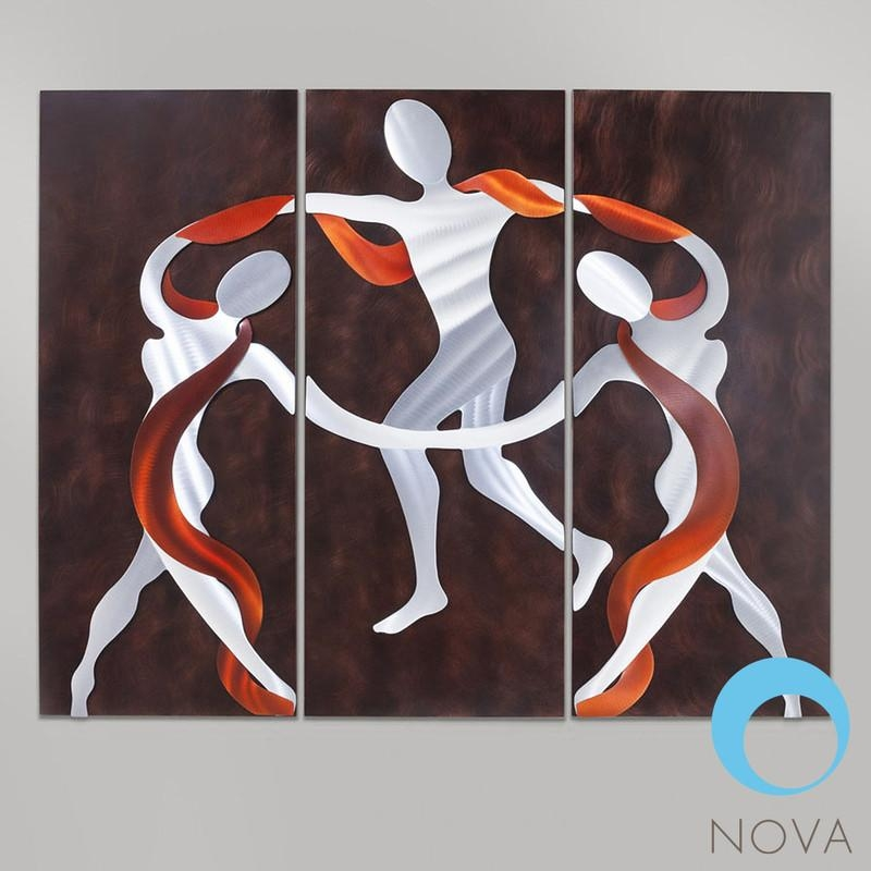 Nova Scarf Dance | Nova Scarf Dance Wall Artjon Gilmore Within Nova Wall Art (Image 9 of 20)