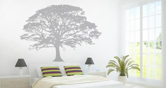 Oak Tree Wall Decals | Dezign With A Z Pertaining To Oak Tree Wall Art (View 2 of 20)