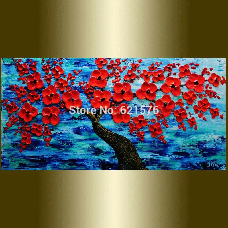 Ocean Canvas Wall Art – Chinese Goods Catalog – Chinaprices With Red And Turquoise Wall Art (Image 13 of 20)