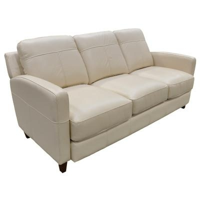 Omnia Leather Skyline Leather Sofa & Reviews | Wayfair Regarding Skyline Sofas (Image 5 of 20)