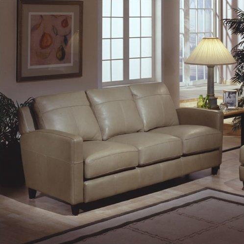 Omnia Leather Skyline Leather Sofa & Reviews | Wayfair Within Skyline Sofas (Image 6 of 20)