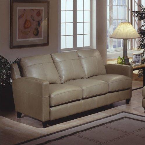 Omnia Leather Skyline Leather Sofa & Reviews | Wayfair Within Skyline Sofas (View 14 of 20)